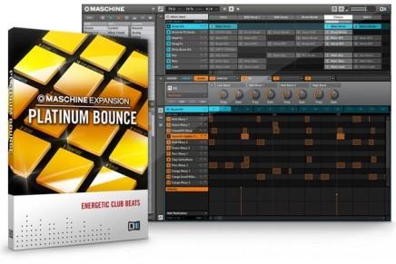 Native Instruments release Maschine Expansion Platinum Bounce