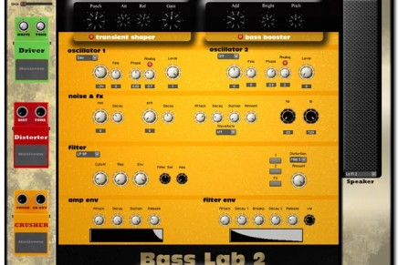 MusicRow Bass Lab Extreme bass synth for Reaktor Released