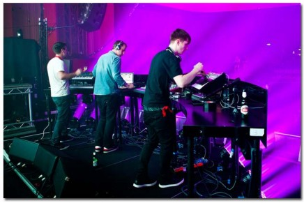 Japanese Popstars tour with A&H ZED mixer