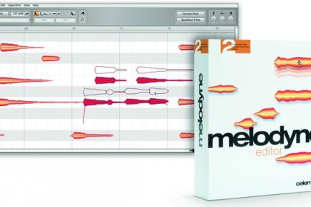 Celemony releases Melodyne editor 2.1
