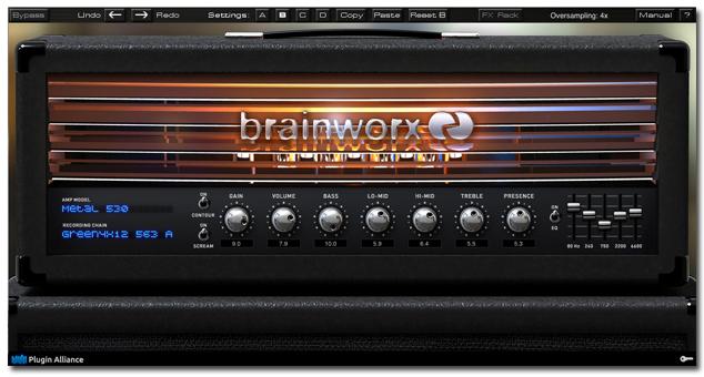 Plugin Alliance announces availability of Brainworx bx_rockrack