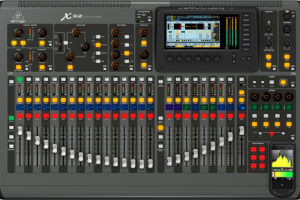 Behringer X32 Digital Console Available Soon