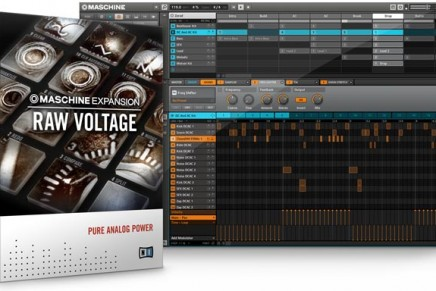 Native Instruments RAW VOLTAGE Maschine Expansion Introduced