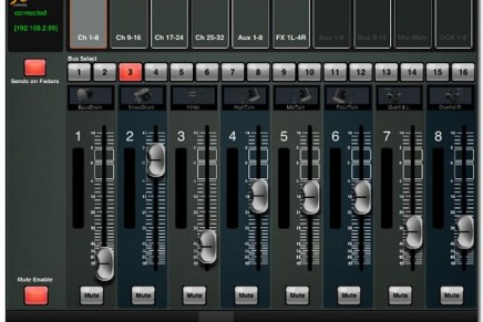 Behringer XiControl for X32 App Available