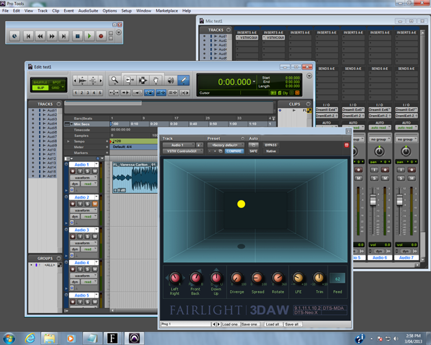 Next-Generation 3D Audio Creation Platform from Fairlight