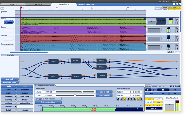 Tracktion 4 for Linux Now Available - Gearjunkies com