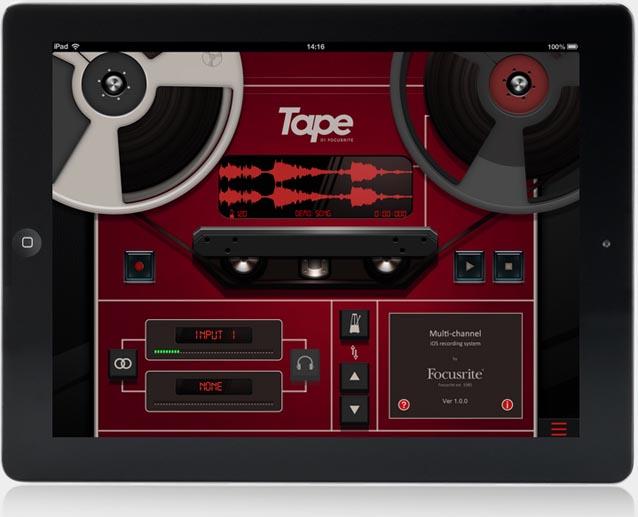 Free Download: Focusrite TAPE App - Gearjunkies com