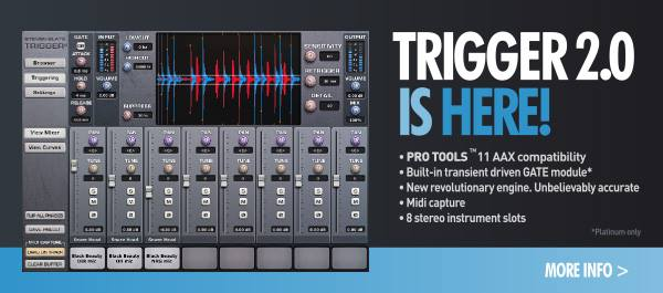 Drum Triggers Software : slate trigger 2 0 drum replacement software now available ~ Russianpoet.info Haus und Dekorationen