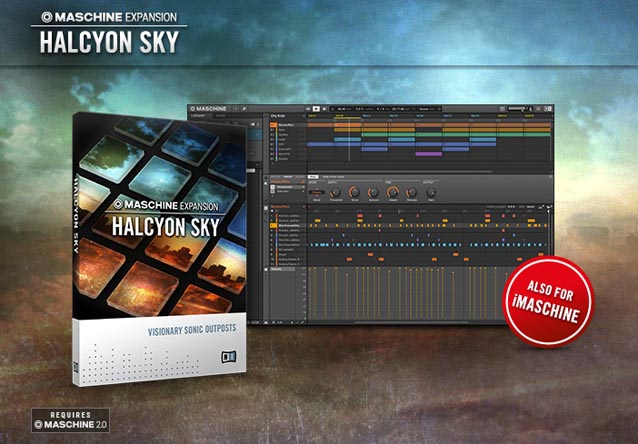 halcyon sky maschine