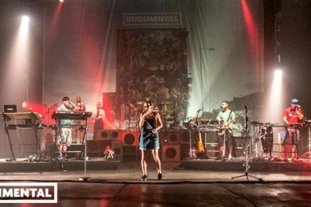 Rudimental on stage and in the studio with Focusrite/Novation