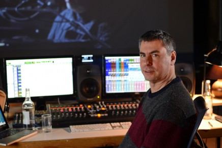 Ben Findlay mixes Peter Gabriel with Sonnox Plugins