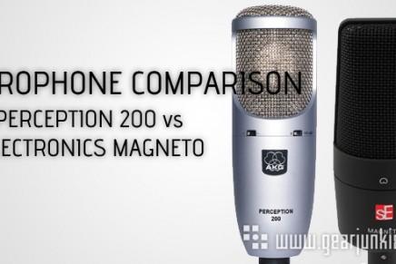 sE Electronics Magneto vs. AKG Perception 200 – Gearjunkies Comparison