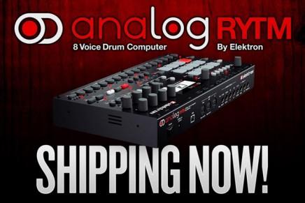 Elektron is shipping the new Analog Rytm