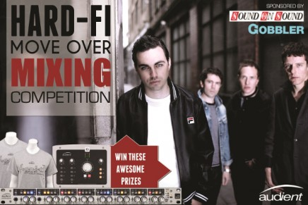 Audient Announces Hard-Fi Move Over Mixing Contest