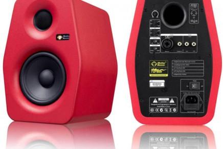 Monkey Banana Turbo 5 Red Active Digital Monitor Speakers – Gearjunkies Review
