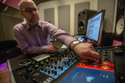 Cutting through the mix: Miles Walker and his Red 1 500s