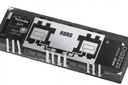 Korg and Noritake Release Innovative Vacuum Tube the Nutube