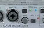 New Edirol UA-25 USB Audio/MIDI interface