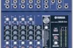 New Analog mixers from Yamaha