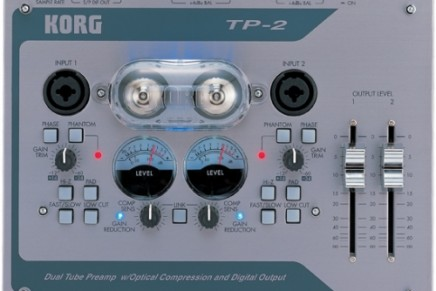 Korg Introduces TP-2 and TPB-2 Tube Preamps