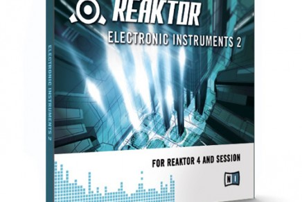 NI announces Electronic Instruments 2 for Reaktor 4