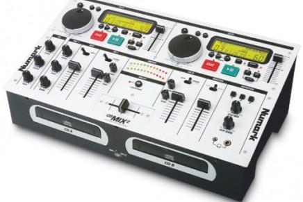 Numark introduces the CD MIX-2