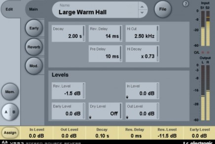 TC Releases system 6000 reverb for Powercore