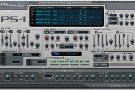 ProSounds  released PS-1 Performance Synthesizer