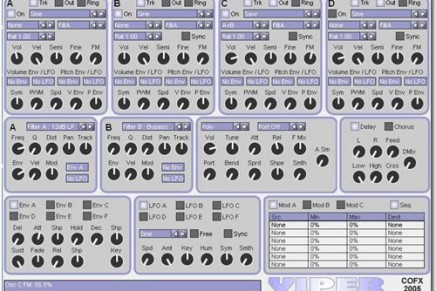 ConcreteFX release new FM/additive softsynth Viper