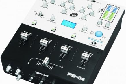 Gemini announces the PS-04 DJ mixer