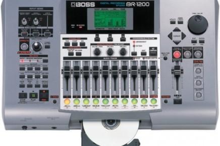 Boss ships the  BR-1200CD studio
