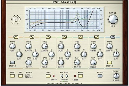 PSP Audioware updates MasterQ (Mac OSx version)