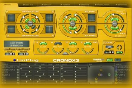 LinPlug updates the CronoX3