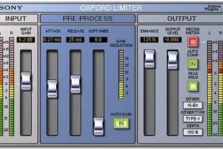 Sony announces the Oxford Limiter