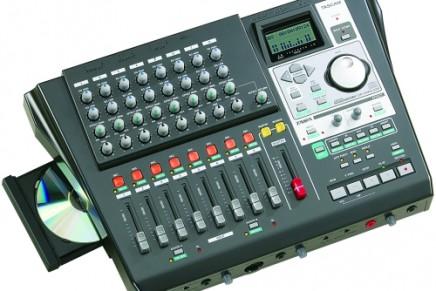 Tascam announces DP-01FXCD digital portastudio