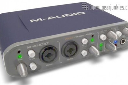 M-Audio announces Pro version of Fast Track audio interface
