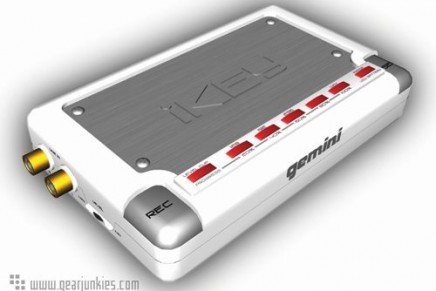Gemini introduces the iKEY portable USB recorder