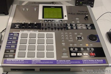Roland offers free tutorials on the MV-8000