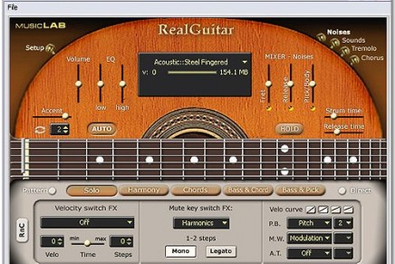 MusicLab release RealGuitar 2.0