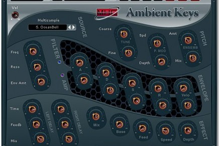 MHC announce the release of Ambient Keys 1.5