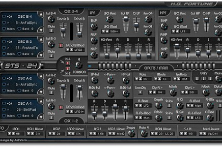 HG Fortune releases new STS-24 VSTi Synthesizer