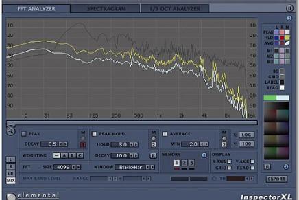 Upgrade for  Elemental Audio Inspector XL