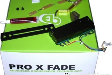 Urei adopts the ProX customisable cross fader