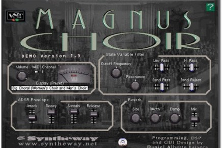 Syntheway updates Magnus Choir to version 1.5.