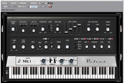 Digidesign announces Velvet – vintage electric piano