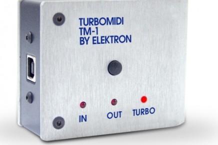Elektron announces the TM-1 Turbo MIDI interface
