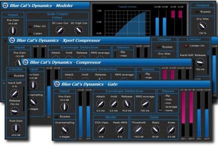 Blue Cat Audio Dynamics 1.0 released