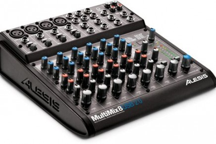 Alesis introduces MultiMix USB 2.0 series mixers