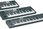 Edirol launch new keyboard controllers – PCR series