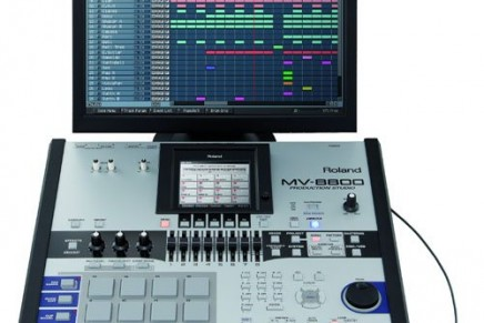 Roland is shipping the MV-8800 production studio